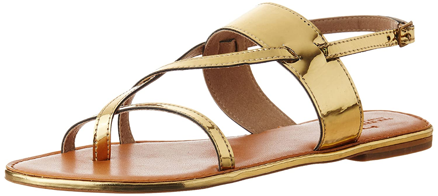 The Trunk Label Women's Stacy Flat Fashion Sandals