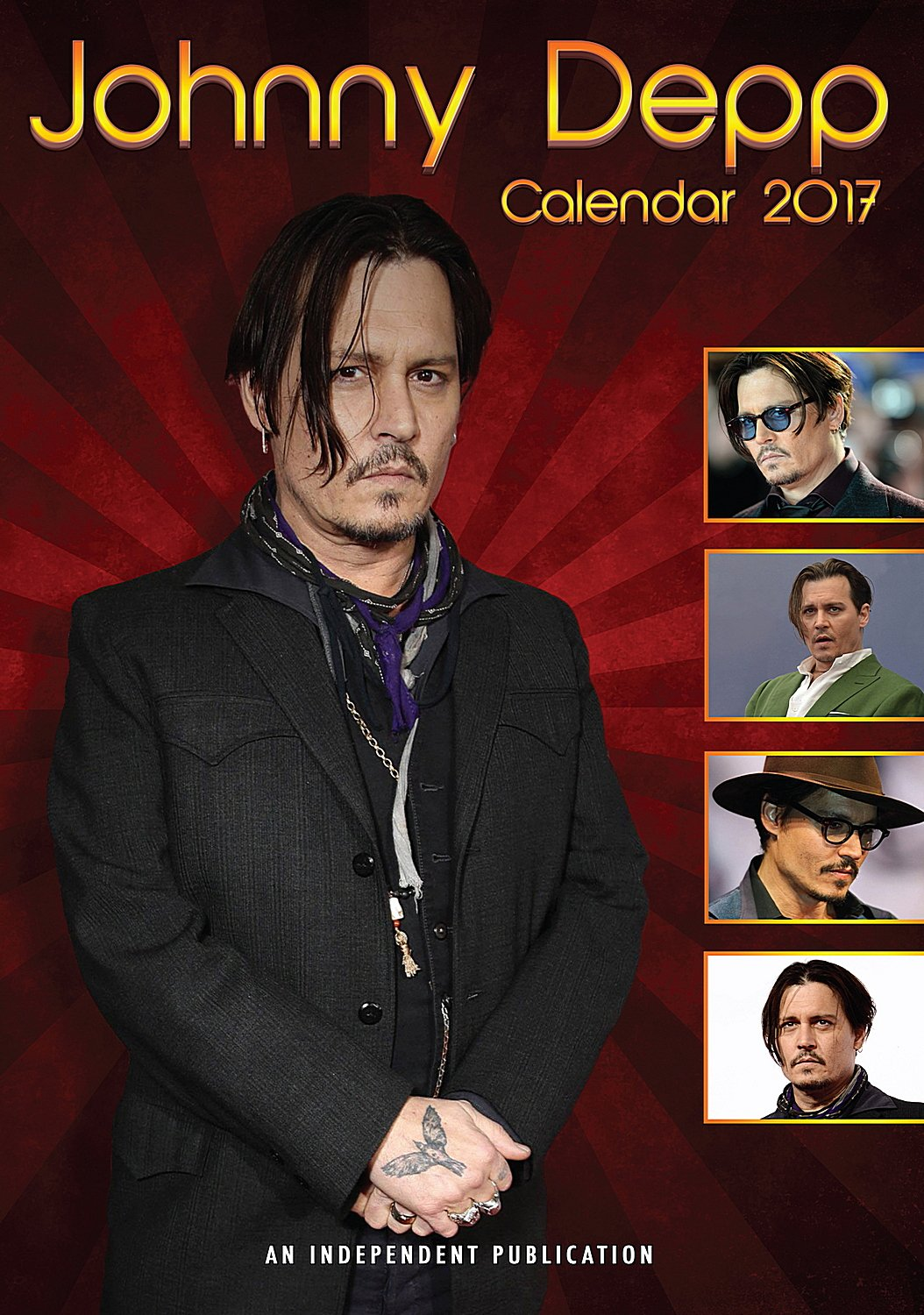 Read Online Johnny Depp Calendar - Calendars 2016 - 2017 Wall Calendars - Movie Wall Calendar - Sexy Men Calendar - Poster Calendar - Celebrity Calendars by Dream pdf