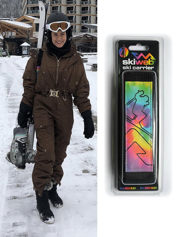 Porte-Skis Skiweb - Arc-En-Ciel Rainbow