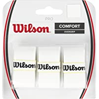Wilson Unisex Adult 2-WRZ4014WH Blister - White, One Size (Pack of 3)