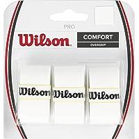 Wilson Pro Over Grip, White, 3 Pieces