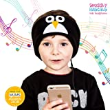 Snuggly Rascals Kids Headphones Over Ear Headband Earphones; Quiet, Volume Limited and Durable. Great for Travel, Use With iPad, iPhone, Samsung Tablet Computer. Suitable for Children (Penguin)