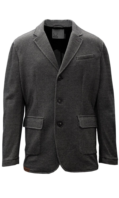 Levelwear LEY9R NHL Chicago Blackhawks Adult Men Granite Sport Coat, Small, Charcoal
