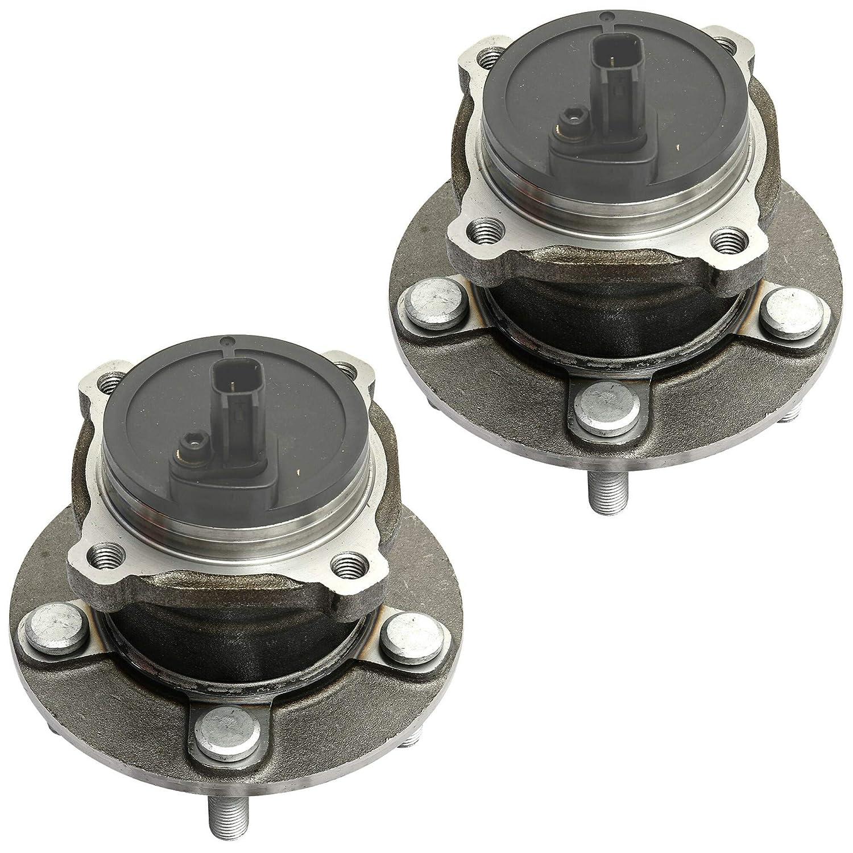 2x Radlager Radnabe Satz mit integriertem ABS-Sensor hinten Hinterachse links rechts