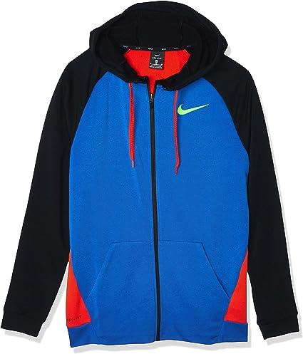Nike M NK Dry Hoodie Fz Fleece Sweat Shirt Homme: