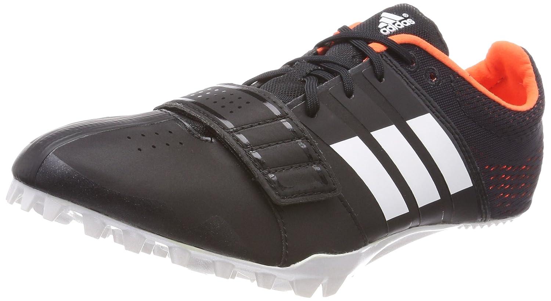 Adidas Adizero Accelerator, Zapatillas de Atletismo Unisex Adulto 46 EU|Negro (Negbas/Ftwbla/Naranj 000)