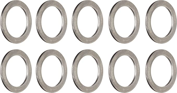 10Pcs Bicycle Pedal Spacer Crank Cycling Bike Stainless Steel Ring Washers SR