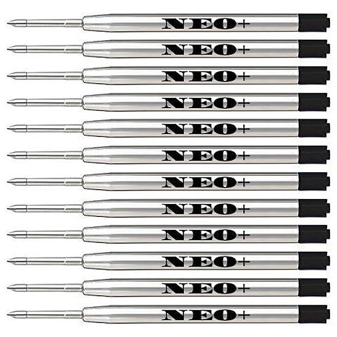 150 opinioni per Confezione da 12Filtri di ricambio per penna Parker nero Medium
