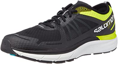 Salomon Sonic RA Max Road Running Shoe - Mens, Safety Yellow/Black/Blue
