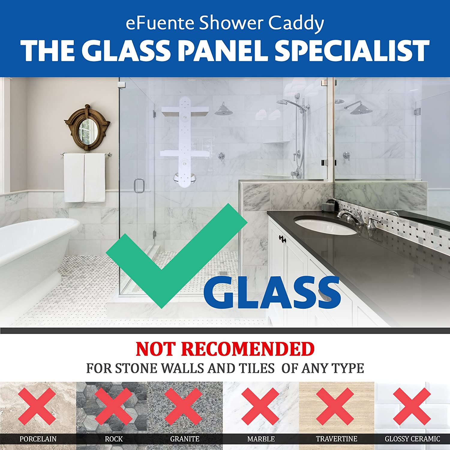 Amazon.com: eFuente Glass Panel & Wall Specialist | All In One ...