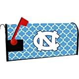 UNC TAR HEELS MAILBOX COVER-UNIVERSITY OF NORTH CAROLINA MAGNETIC MAIL BOX COVER-MOROCCAN DESIGN