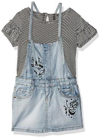 94c81c39d8aa Amazon.com  Jessica Simpson Baby Girls Bodysuit and Denim Coverall Set   Clothing