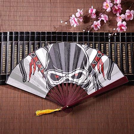 Fans chinos para las mujeres Ninja misterioso sostiene un ...