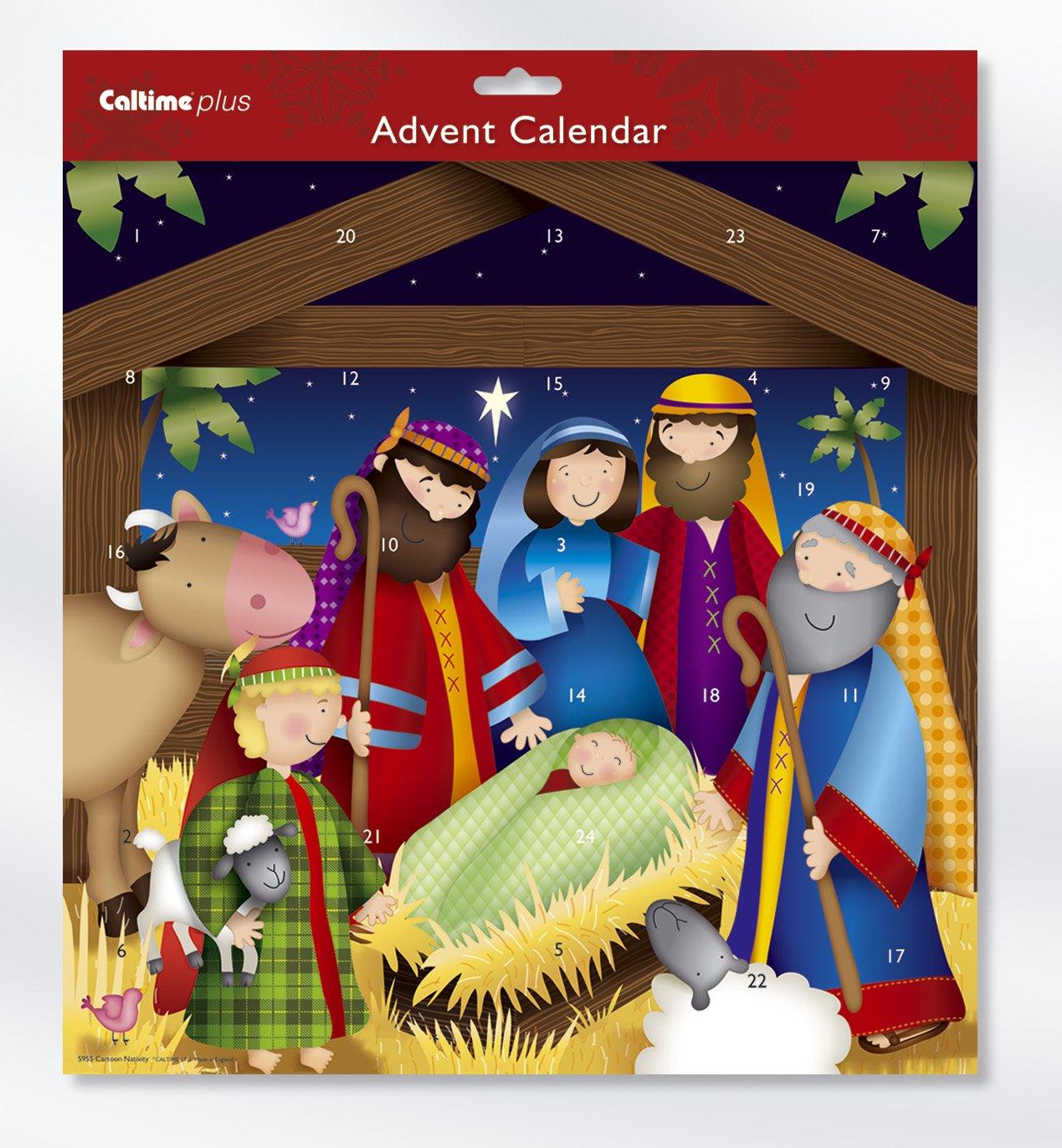 Cartone natività Calendario Avvento Caltime Ltd S955
