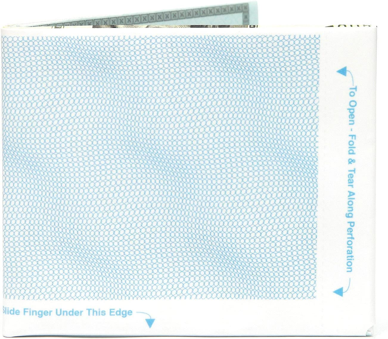 Slim Mighty Tyvek Dynomighty The Euro Bifold Papier Portefeuille Porte-monnaie The Walart Bifold Paper Wallet Svelte