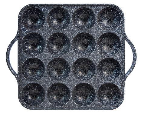 Amazon.com: cookking – Takoyaki antiadherente sartén ...