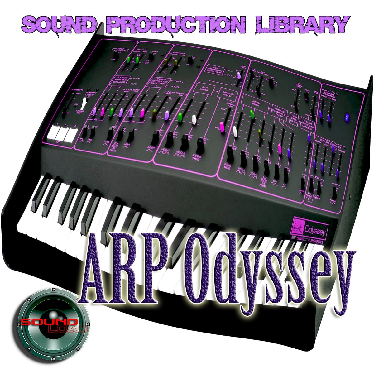 ARP Odyssey - The KING of analog sounds - Large unique original 24bit WAVE/Kontakt Multi-Layer Samples Studio Library; FREE USA Continental Shipping on DVD or download