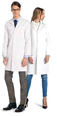 Dr. James Professional Unisex Lab Coat: Amazon.co.uk: Clothing