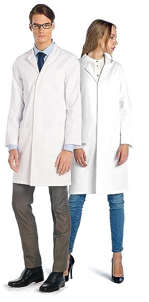 Dr. James Professional Unisex Lab Coat: Amazon.co.uk: Clothing