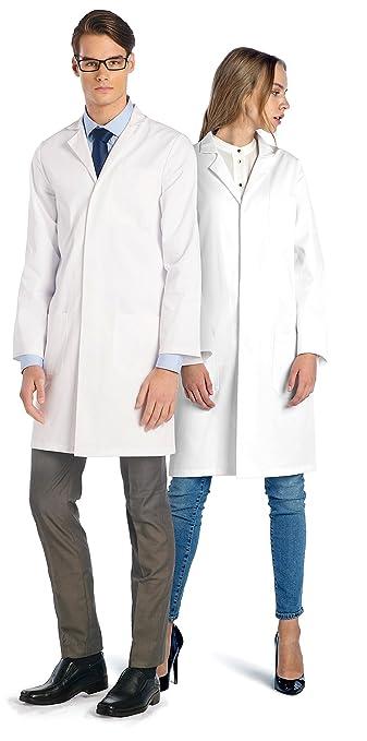 44 opinioni per Camice Bianco da Laboratorio Dr. James Unisex in Policotone