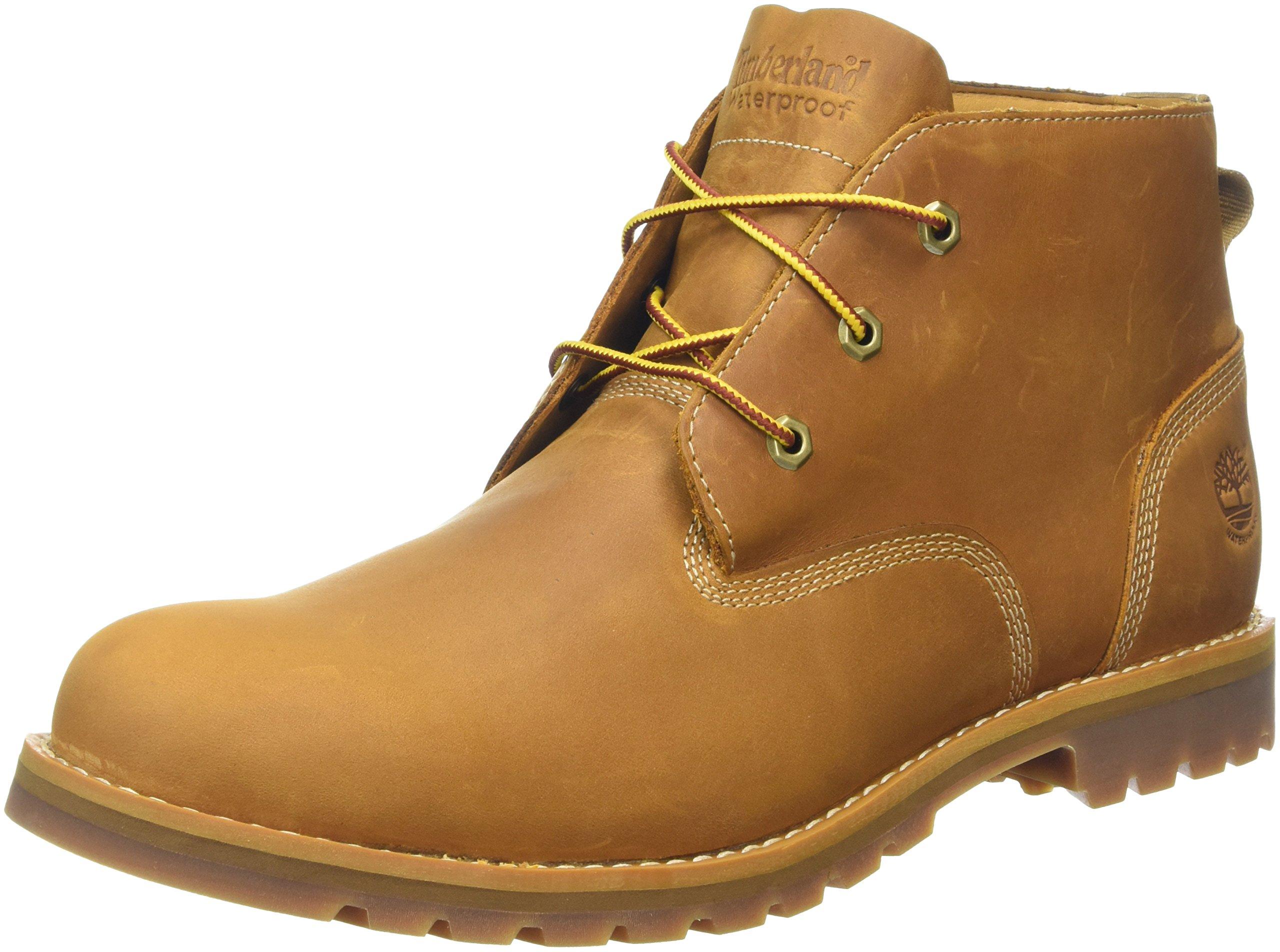 Timberland Mens Wheat Larchmont Waterproof Chukka Boots Size 12