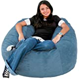 Amazon Com Cozy Sack 4 Feet Bean Bag Chair Large
