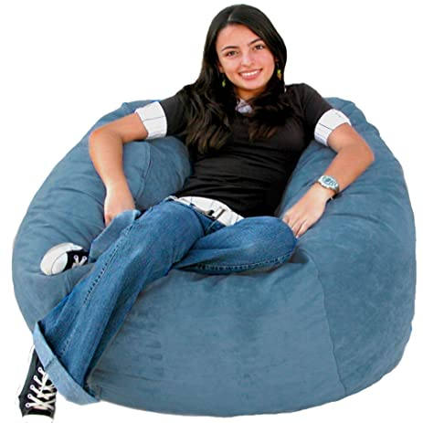 Cozy Sack 3 Feet Bean Bag Chair Medium Sky Blue