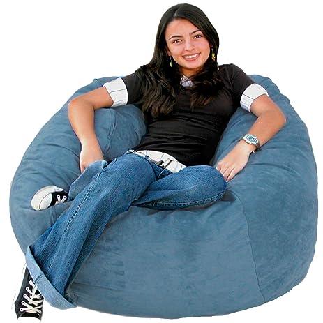 Cozy Sack 3 Feet Bean Bag Chair Medium Sky Blue