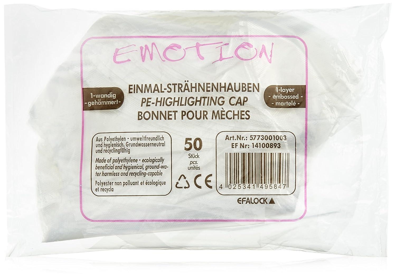 Efalock Professional Einmal-Strähnenhaube 1-wandig, 1er Pack, (1x 50 Stück) (1x 50 Stück) 4025341495847