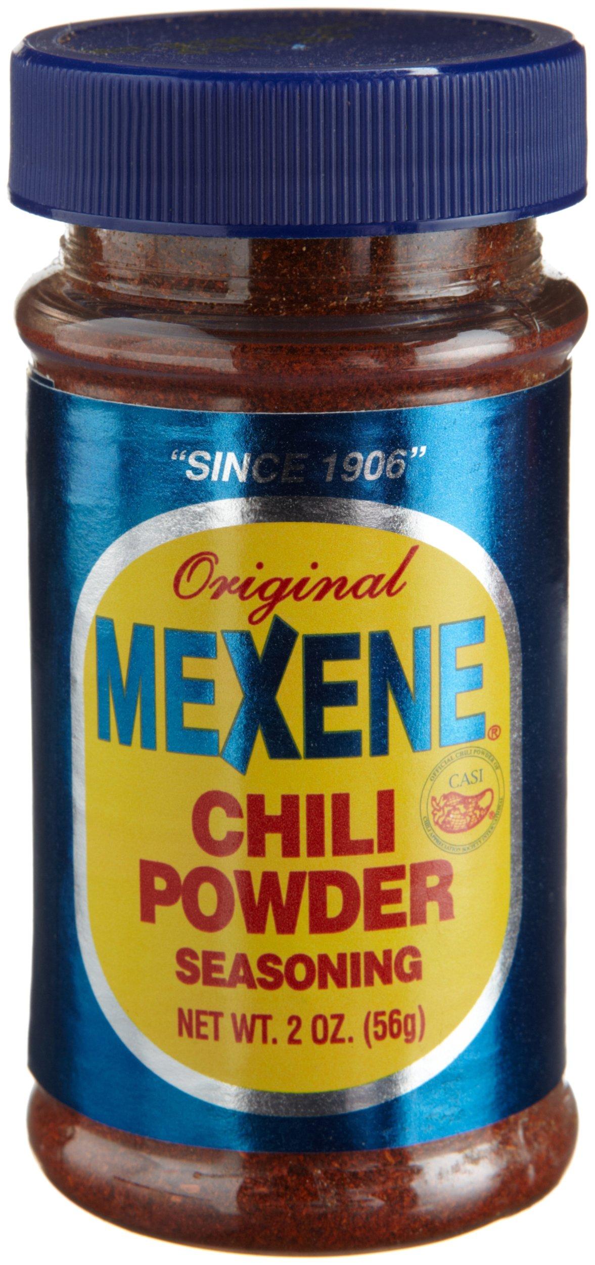 Mexene Chili Powder, 2-Ounce Jars (Pack of 12)