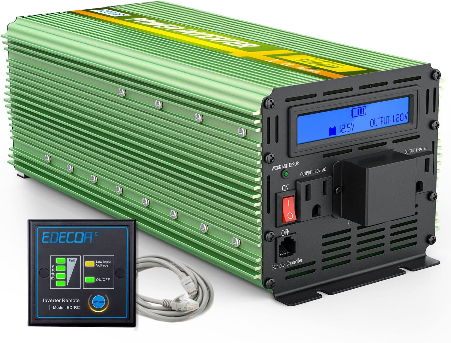 5 Best Power Inverter for Camping of 2020 [Read Before Buy] 2