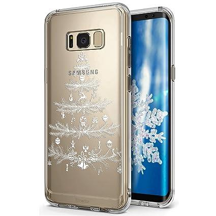 Funda Samsung Galaxy S8, Carcasa Samsung Galaxy S8, JAWSEU ...
