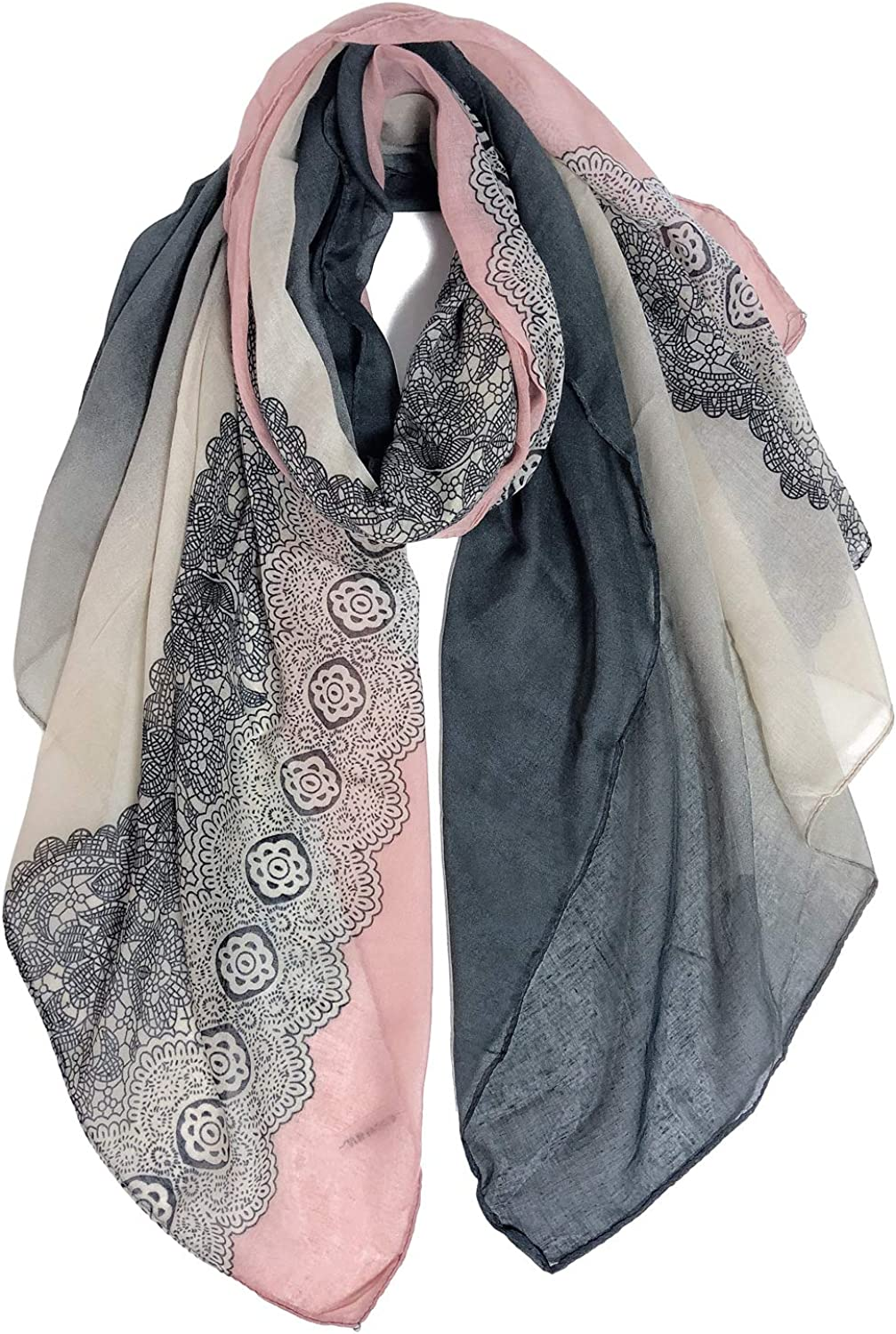 NEW Light Brown Skull Print Multi Way Sarong Scarf Beach Cover Up