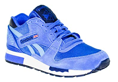 36f70b1db40 Image Unavailable. Image not available for. Color  Reebok Womens GL 6000  Athletic Retro Running Shoes in Impact Blue ...