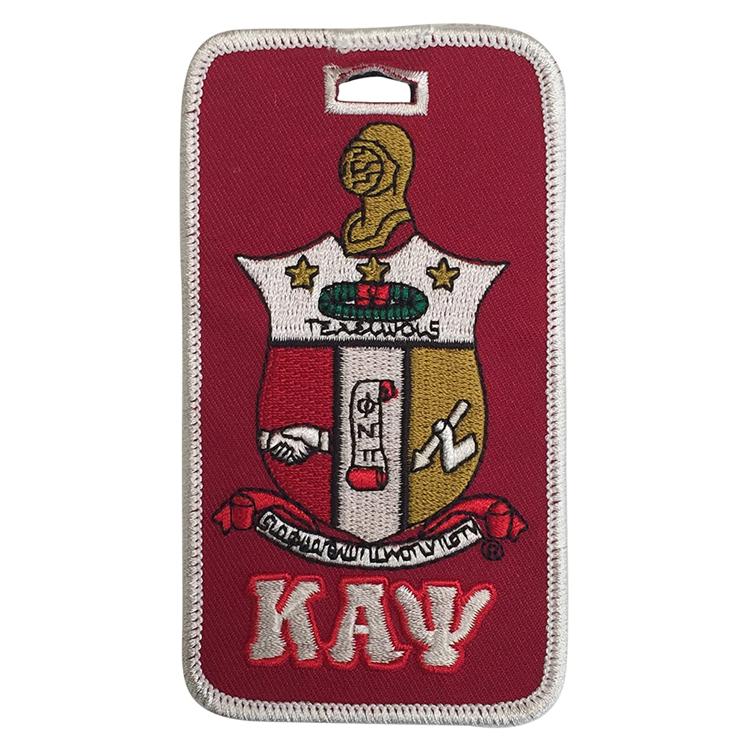 a55f75984557 Kappa alpha psi shield crest embroidered luggage tag everything else jpg  1500x1500 Alpha kappa luggage tags