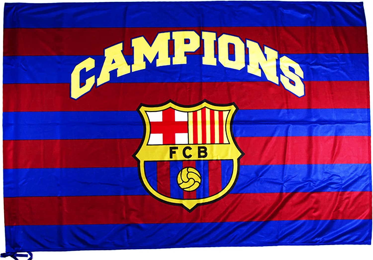 flag official fc barcelona barca 150 x 100 cm amazon co uk sports outdoors flag official fc barcelona barca 150