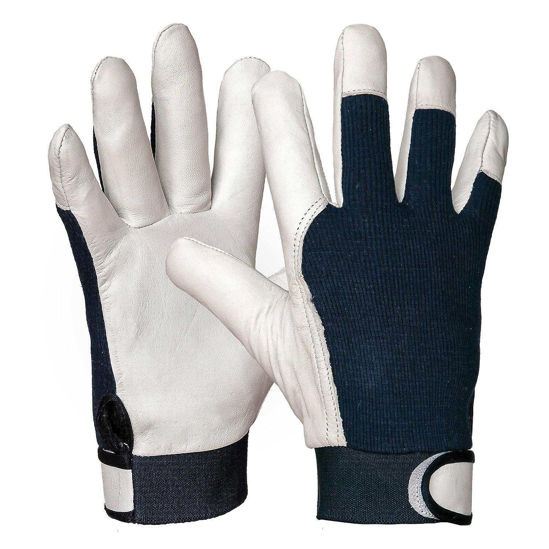 12 Paar Arbeitshandschuhe Lederhandschuhe Mechanikerhandschuhe R319N-12