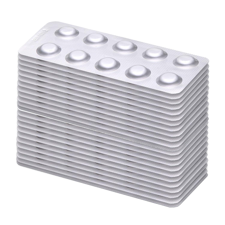 50 bandelettes de test m/étal lourd plomb nickel cuivre Test Kit Pour Fer cadmium mercure cobalt zinc