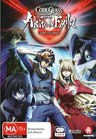 Amazon com: Code Geass Akito the Exiled Complete Series | 3 Discs