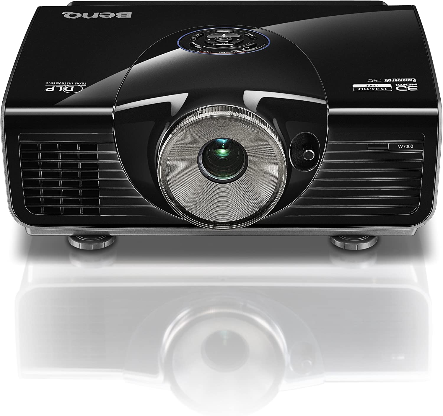 BenQ W7000 300-Inches 1080p Cinema Quality Home Projection System -Black