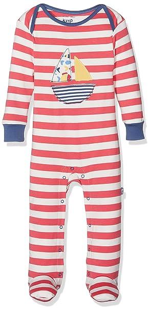 Kite Sailing Sleepsuit, Pelele para Dormir para Bebés, Rojo Red, 6-12