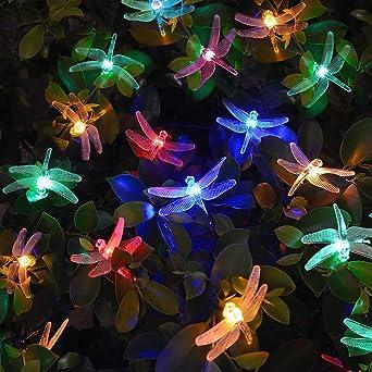 luces solar exterior tira lamparas led de decoracin garden iluminacin luces navidad de