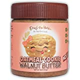 Crazy Go Nuts Walnut Butter - Oatmeal Cookie, 9 oz (1-Pack) - Healthy Snacks, Keto, Vegan, Low Carb, Gluten Free, Superfood -