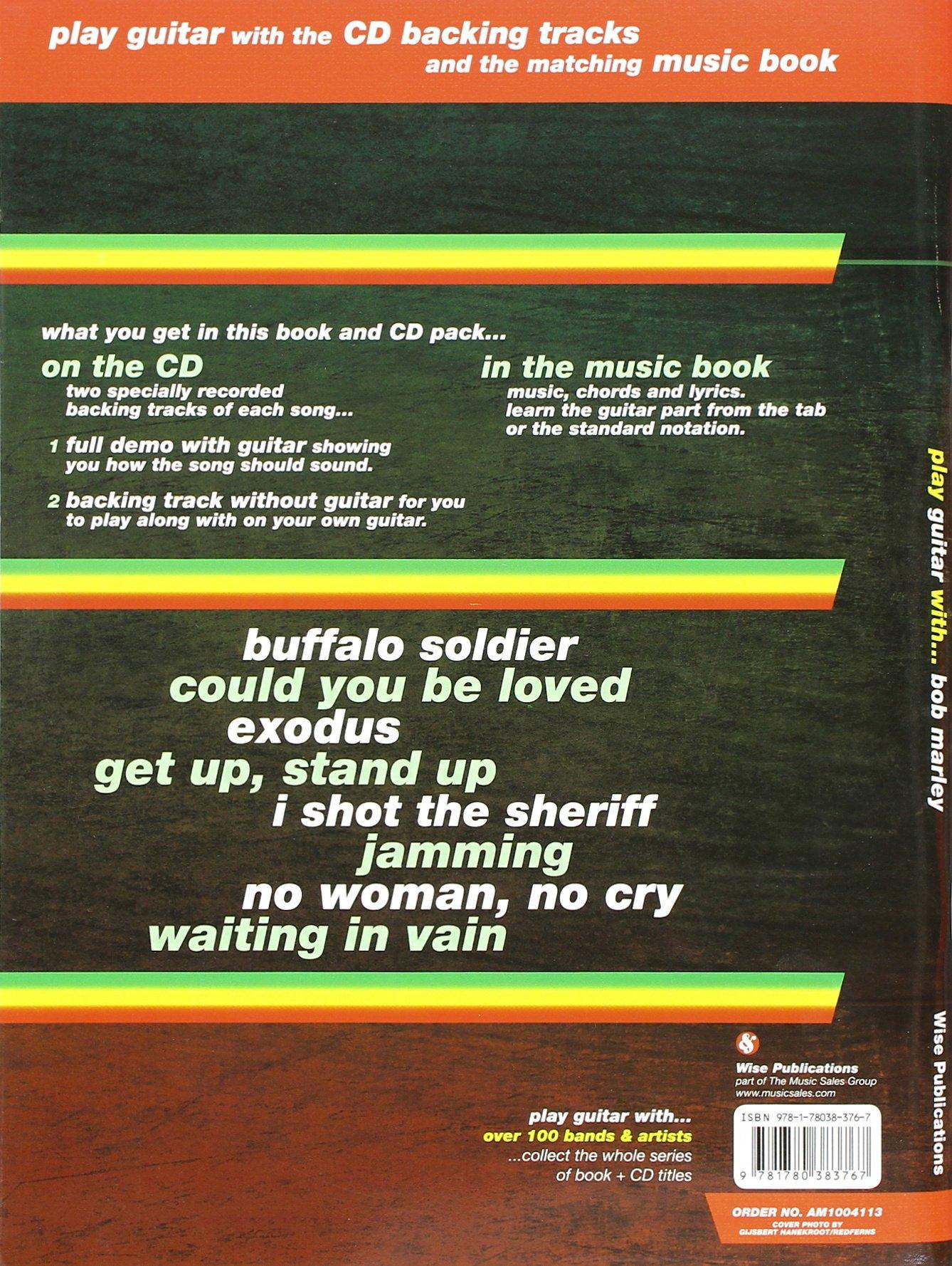 Play Guitar With Bob Marley New Edition 9781780383767 Amazon