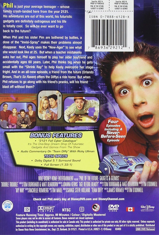 Phil Of The Future Gadgets Gizmos Ullman Ricky Michalka Alyson Amazon Com Br Dvd E Blu Ray