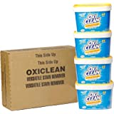 Oxiclean Versatile Stain Remover For Household and Laundry for All Machines including HE, 258 Loads, Pack of 4 (64 Loads x 4)