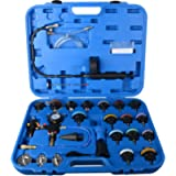 DAYUAN 28pcs Universal Radiator Pressure Tester and Vacuum Type Cooling System Kit