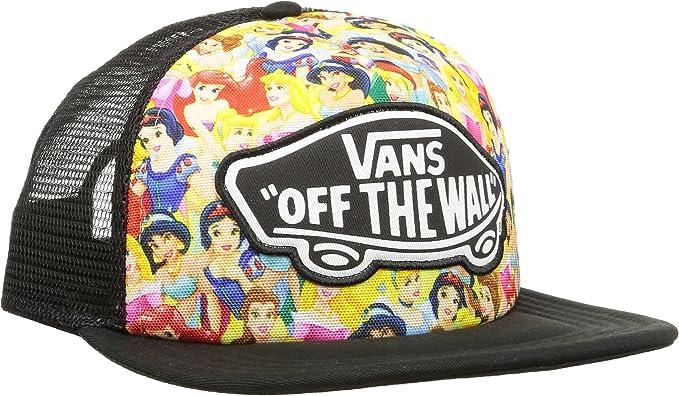 Vans Womens Disney Trucker Cap - Multi Princess  Amazon.ca  Clothing ... 2ada6e328375