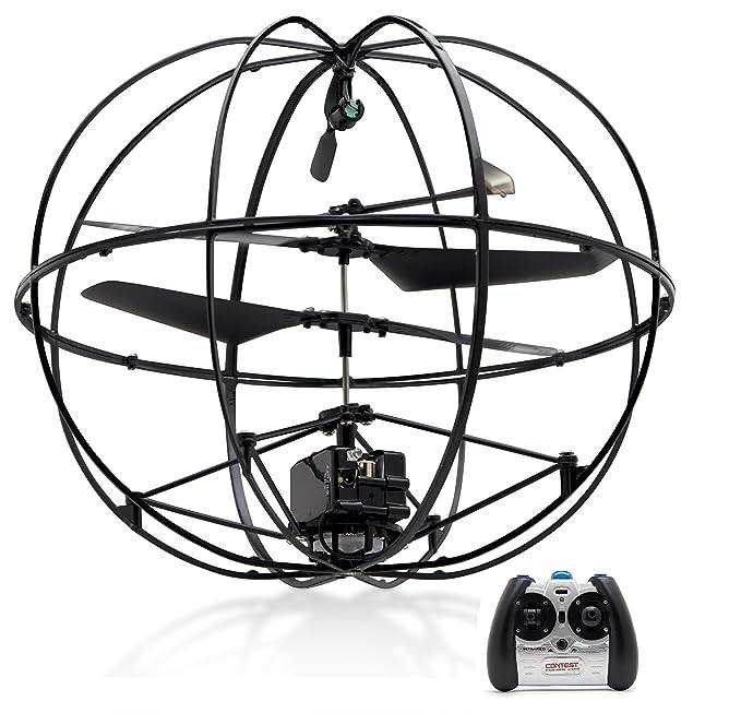 Amazon Com Top Race Robotic Ufo 3 Channel Rc Remote Control Ir