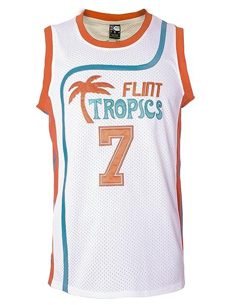 Amazon.com: MOLPE Café Negro 7 Flint Tropics Camiseta de ...